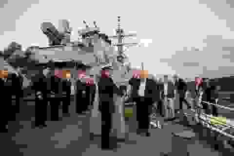 S-300 Nga vừa tới Syria, Mỹ đưa tàu chiến cập cảng Israel sau 20 năm