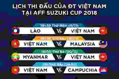 K+ phát sóng trực tiếp tất cả các trận đấu tại AFF Cup 2018