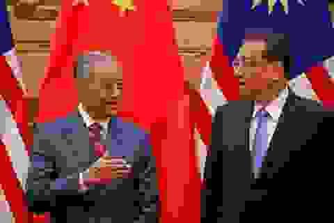 Malaysia đổi thái độ với Trung Quốc