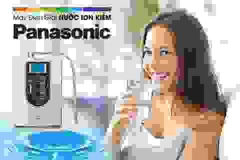 Thế Giới Điện Giải và Panasonic hợp tác phát triển máy điện giải nước ion kiềm