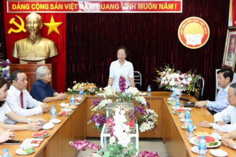 Kỷ niệm 22 năm ngày thành lập Hội Khuyến học Việt Nam: Khuyến học, khuyến tài đưa đất nước đi lên