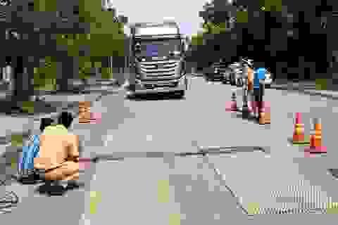 Một xe quá tải trọng bị xử phạt tới... 111 triệu đồng
