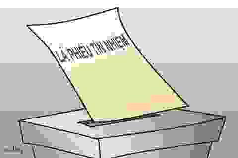 Nghĩ trước ngày Quốc hội lấy phiếu tín nhiệm…