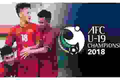 Xem trực tiếp U19 Việt Nam thi đấu tại giải U19 châu Á trên smartphone và máy tính