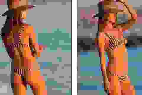 Alessandra Ambrosio gợi cảm trên biển