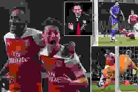 Ngược dòng hạ Leicester, Arsenal nối dài mạch chiến thắng lên bảy trận