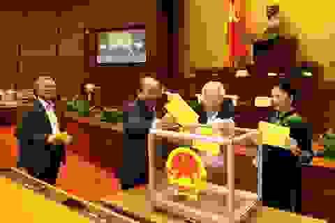 Quốc hội bỏ phiếu quyết định việc Tổng Bí thư đồng thời là Chủ tịch nước