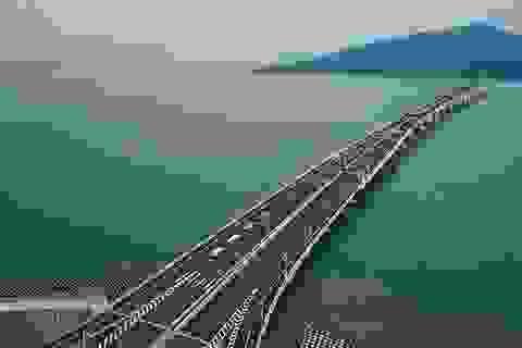 """Tranh cãi xung quanh cầu vượt biển 20 tỷ """"đô"""" dài nhất thế giới của Trung Quốc"""