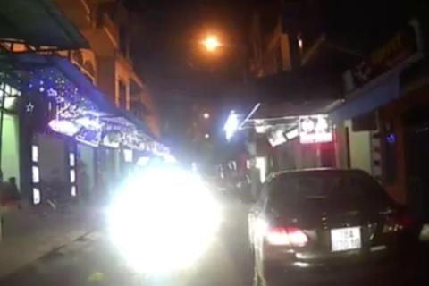Từ chối đăng kiểm cho xe ôtô lắp thêm đèn trợ sáng
