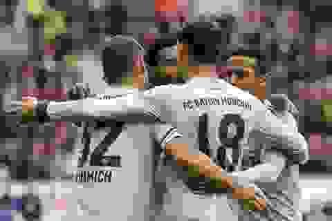 Thắng trận thứ 3 liên tiếp, Bayern Munich áp sát Dortmund