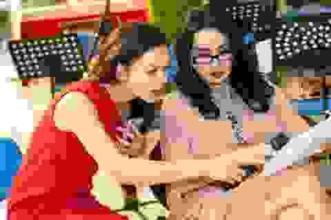 """Thanh Lam, Trọng Tấn như """"lên đồng"""" tập nhạc cùng Phạm Phương Thảo"""