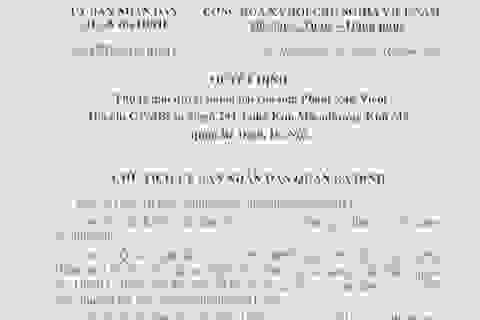 Hà Nội: Người dân để nghị xem xét lại việc khấu trừ nghĩa vụ tài chính 40% tiền sử dụng đất!