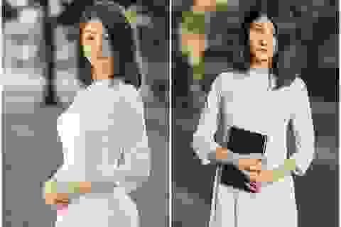 Nữ sinh Ninh Bình sở hữu nét đẹp sắc sảo hút hồn