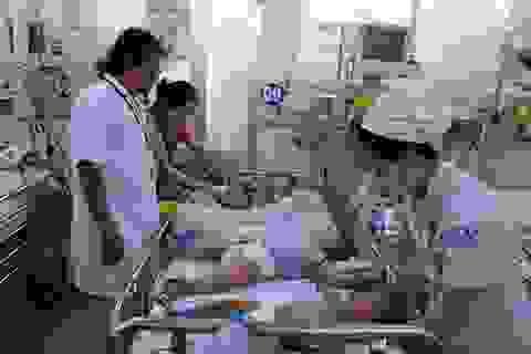 Y bác sĩ kiệt sức giữa điểm nóng dịch bệnh