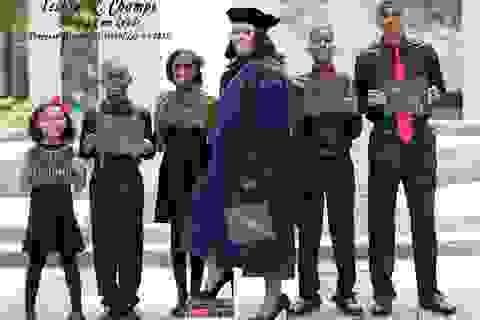 """Bức ảnh mẹ đơn thân ngày tốt nghiệp trường Luật cùng 5 đứa con gây """"bão mạng"""""""