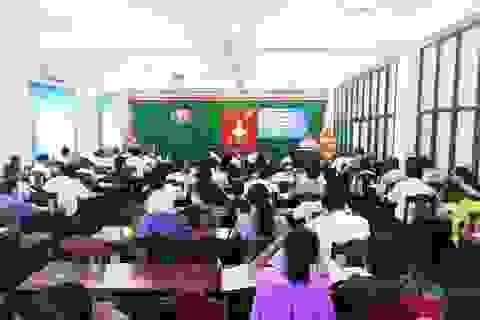 Hơn 100 cán bộ tập huấn công tác khuyến học