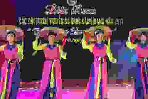 Bắc Ninh: Liên hoan các đội tuyên truyền ca khúc cách mạng năm 2018