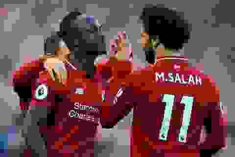 Đội hình tiêu biểu vòng 10 Premier League: Mohamed Salah trở lại