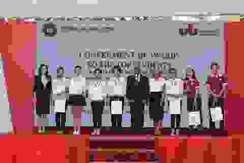 Nhiều trường đại học nước ngoài công bố Quỹ học bổng cấp cho sinh viên ĐH Ngoại thương