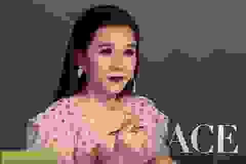 """Người mẫu Thảo Nhi bật khóc trên ghế nóng khi nhắc về định kiến """"người đẹp đi làm MC"""""""