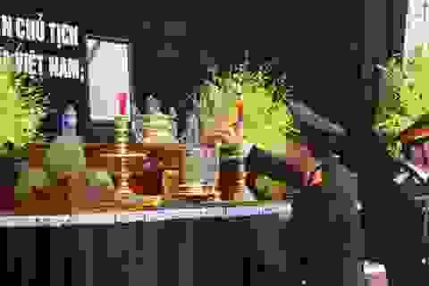 Lễ viếng nguyên Tổng Bí thư Đỗ Mười tại quê nhà ngoại thành Hà Nội