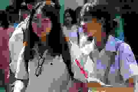 Tuyển sinh lớp 10 của Hà Nội: Môn thứ 4 sẽ thi trắc nghiệm hoàn toàn