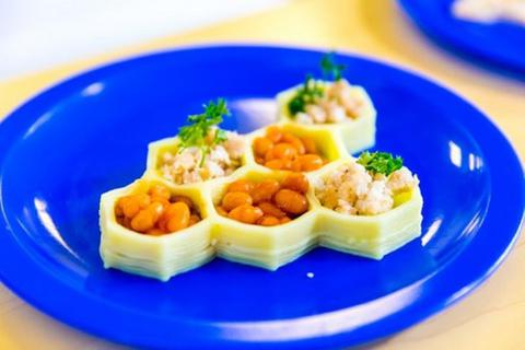 Các nhà khoa học đã tạo ra các bữa ăn trường học in 3D