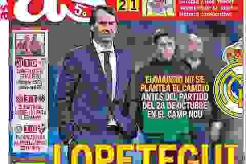 Mourinho là ứng viên hàng đầu thay thế Lopetegui tại Real Madrid
