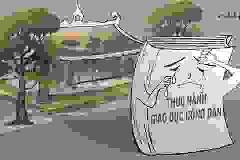 """Những bàn tay """"bôi bẩn"""" lên cả nền văn hoá!"""