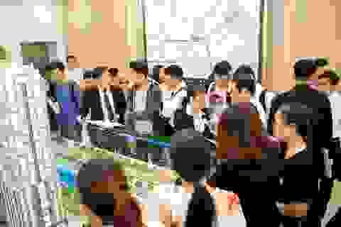 Hàng trăm khách hàng nô nức tham dự lễ khai trương nhà mẫu Southgate Tower