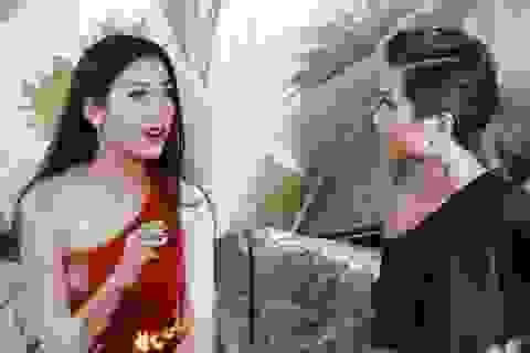 Á hậu Thúy Vân chia sẻ kinh nghiệm thi quốc tế cho H'Hen Niê