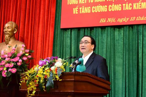 Bí thư Hà Nội: Xử lý nghiêm đảng viên sai phạm để giữ vững kỷ cương