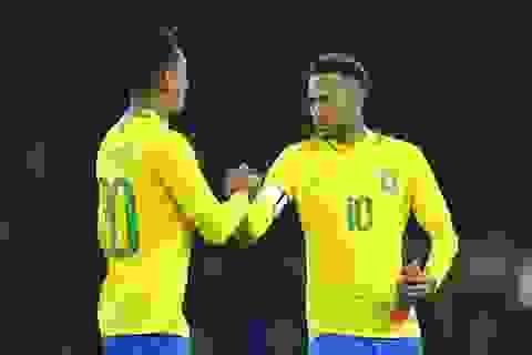Neymar lập công, Brazil giành chiến thắng trước Uruguay