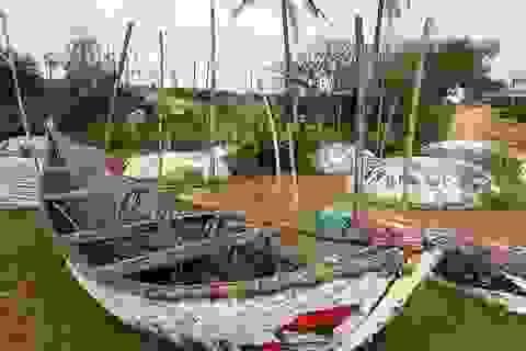 Tháo dỡ con đường thuyền thúng nhận kỷ lục Việt Nam