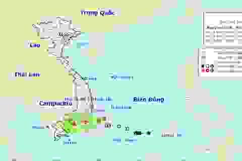 Bão số 8 suy yếu thành áp thấp nhiệt đới