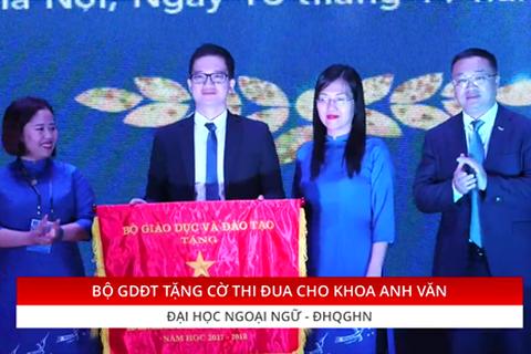 Khoa Anh Văn- Trường ĐHNN- ĐHQG Hà Nội kỷ niệm 60 năm thành lập