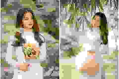 Nữ sinh ĐH Thương mại sở hữu vẻ đẹp không góc chết