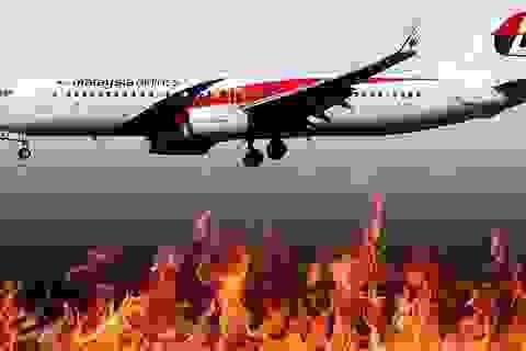 Nghi vấn máy bay MH370 bốc cháy hàng giờ trước khi rơi xuống biển