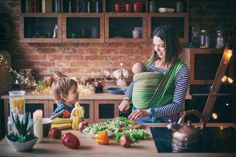 Cân bằng sức khỏe tổng thể là cách hiệu quả nhất để giảm cân sau khi sinh
