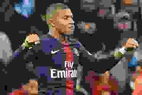 """Mbappe đứng trước cơ hội lập kỷ lục ở giải """"Cậu bé vàng"""""""