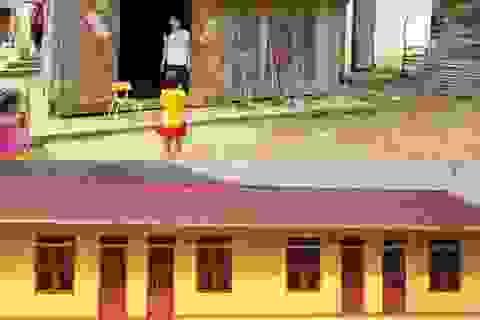 Niềm vui của cô giáo vùng cao trên những công trình phòng học mang tên Dân trí