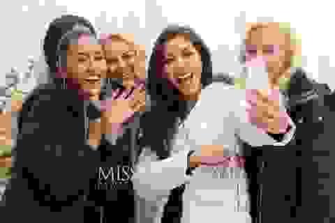 Minh Tú gây chú ý ngay hoạt động đầu tiên của Miss Supranational 2018