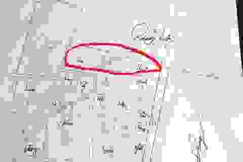 """Vụ """"hô biến"""" đất lâu năm thành đất ở: Bản đồ do tỉnh đo đạc, điều chỉnh là sai (!?)"""