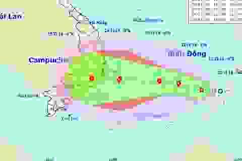 Áp thấp nhiệt đới khả năng thành bão đang hướng vào đất liền Việt Nam