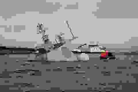 Bí ẩn vai trò của sĩ quan Mỹ trong vụ tàu chiến Na Uy bị tàu hàng đâm chìm