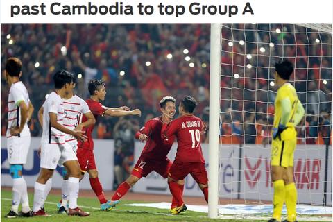 """Báo nước ngoài: """"Đội tuyển Việt Nam đã sẵn sàng để vô địch AFF Cup"""""""