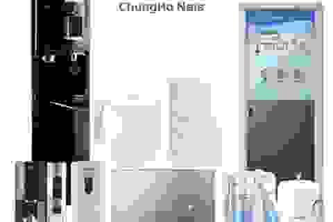 ChungHo Nais – Ông lớn ngành lọc nước Hàn Quốc tham gia thị trường Việt Nam