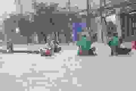 Áp thấp suy yếu từ bão số 9 tiếp tục gây mưa lớn ở nhiều tỉnh phía Nam
