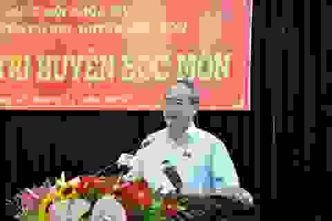 Bí thư Nguyễn Thiện Nhân nói về việc ông Tất Thành Cang bị kỷ luật