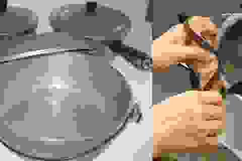 Nguy cơ nhiễm độc chì, ung thư từ những thói quen sử dụng và vệ sinh nồi chảo